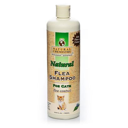 Natural Chemistry Presents Natural Chemistry Flea and Tick Shampoo for Cats 16oz. Natural Breakthrough Product Patent Pending Botanical Formula Kills Fleas and Ticks on Contact Contains no Pyrethrins! Will not Wash out Spot-on Flea Treatments [17811]