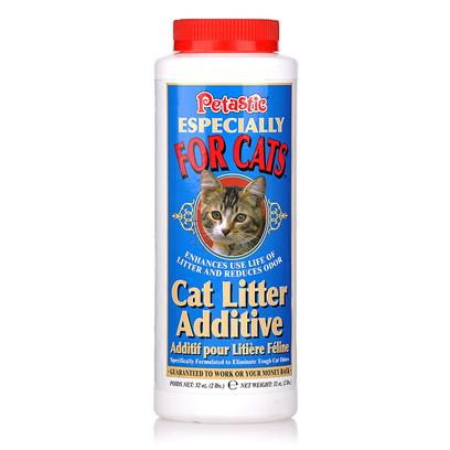 Venus Laboratories Presents Cat Litter Additive 2lb 32oz (2 Lbs). Petastic Cat Litter Additive Extends the Use-Life of Litter, Saving you Money and Eliminating the Odors Associated with Cat (and Other Small Animal) Urine. Cat Litter Treatment`S Natural, Scientific Enzyme and Bacteria Blend Break Down the Odor Causing Molecules of Cat Urine Thereby Eliminating the Odor. Petastic Cat Litter Additive is Odorless so it will not Deter Cat from Using Litter Box and is an Exclusive Formula that is Flushable so it can be Used with all Natural Litters. 2 Lb. [17946]
