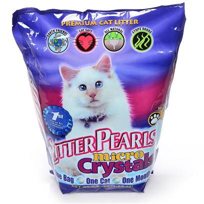 Harvest Ventures Presents Ultra Pet Litter Pearl Micro Crystals 3.5lb Bag. The Newest Innovation from the Company that Introduced North America to its First Silica Cat Litter is Litter Pearls Micro Crystals. Like all the Other Fine Products from Litter Pearls the New Micro Crystals are Made from High Quality Ingredients that Deliver Superior Results. Litter Pearl Micro Crystals are Different because they are Soft on the Cats' Paws while Offering Superior Absorption and Odor Control. Each Small Silica Gel Crystal is Able to Absorb its Weight in Urine. The Silica Gel will then Let the Moisture Evaporate while Trapping the Odor Controlling Substances Inside the Crystals. Keeping the Litter Box Odor Free for a Month is as Simple as Daily Removal of Solid Waste from the Litter Box and a Few Moments Spent Stirring and Raking the Silica to Turn the Crystals so Those on the Bottom are Brought to the Top to Aid the Evaporation Process. [17961]