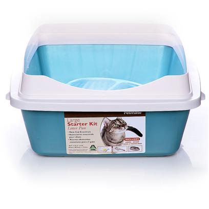 Buy Kitty Litter Liners products including Litter Pan Starter Kit Blue-Large, Litter Pan Starter Kit Pink-Large Category:Litter Boxes &amp; Scoops Price: from $20.99