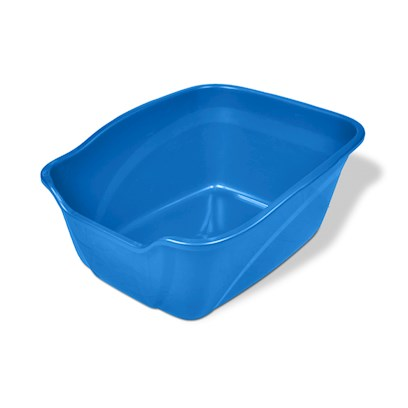 "Van Ness Presents Vanness (High Side) Cat Pan Cp3-X-Large. From One of the Top Names Associated with Durable Home Storage Products Comes a Series of Plastic Litter Care Products. 21.25""X 17.25""X 10.35"" [18076]"