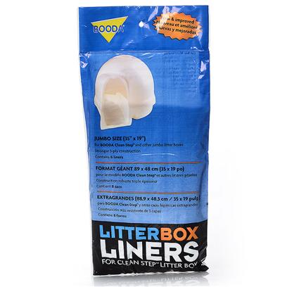Petmate Presents Booda Clean Step Liners 8pk 8-Pack. Booda Clean Step Liners 8pk [18086]
