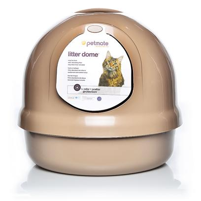 Buy Box with Cat Decorations products including Booda Dome-Titanium Titanium, Booda Dome-Titanium Midnight Blue, Booda Dome-Titanium Pearl Pink Category:Litter Boxes Price: from $26.99
