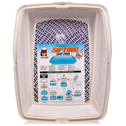 Buy Cat Litter Screen products including Van Ness Sifting Enclosed Cat Pan, Van Ness Sifting Framed Cat Pan Category:Litter Boxes &amp; Scoops Price: from $21.99