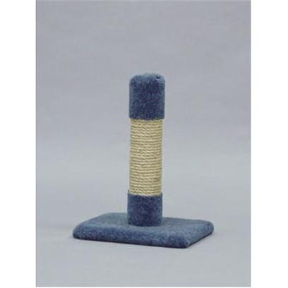 North American Pet Presents Nap Decorator Sisal Post 20'. One of our Most Popular Items! Two Scratching Textures Keep the Cat's Claws Healthy &amp; Conditioned. This Post is Tightly Wrapped with Sisal Rope. Sisal Rope is a Preferred Texture for Cats and Allows them to Sink their Claws Deep into It. Thick, New, Catnip Treated Carpet Outlines the Sisal to Double the Scratching Fun. Item Dimensions 14.5&quot;X11.5&quot;X20&quot; [18137]