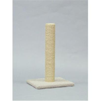 "North American Pet Presents Sisal Post Nap 26'. Our Sisal Scratching Posts Provide Cats with the Ultimate Scratching Experience. 100% Pure Sisal Rope is Tightly Wrapped so the it doesn't Move Around as Easy when Being Scratched. Our Improved Stable Base Prevents Tipping. Item Dimensions 16""X14.5""X25.5"" [18138]"