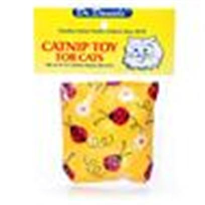 "Drdaniels Presents Dr Daniel's Catnip Cushion Toy for Cats. Colorful Designed 2-1/2"" X 3"" 100% Catnip Filled Toy. Made in America for your Cats Pleasure. [18202]"