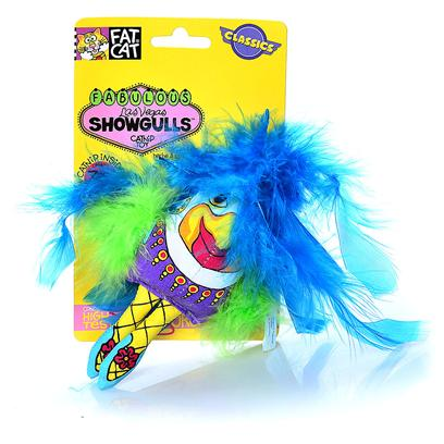 Petmate Presents Showgulls Catnip Feather Toy Fc Catnip/Fthr. Showgulls Catnip Feather Toy [18213]
