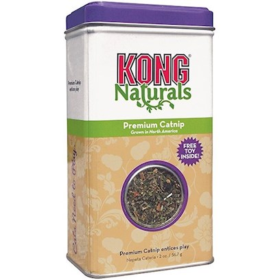 Kong Company Presents Kong Natural Premium Catnip 2oz. Natural Products for Natural Instincts Grown in North America Natural Catnip [18247]