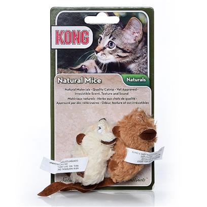 Kong Company Presents Kong Natural Mouse Cm4. Natural Products for Natural Instincts Made with Natural Materials Natural Catnip [18250]