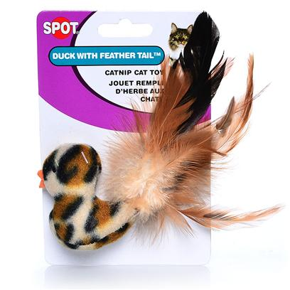 Ethical Presents Spot Catnip Terry Toy. Bright and Colorful Vegetable and Fruit Shapes. Assorted Strawberry, Pear or Pineapple, Carrot, Pepper or Tomato. 12 Piece Clipstrip Multi 12 Piece [18282]