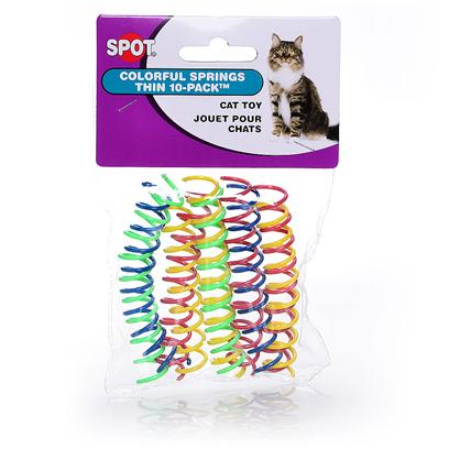Buy Cat Springs Toy products including Colorful Springs Wide Cat Toy 10 Pack, Colorful Springs Thin-10 Pack, Cat Dancer Wire Dangler Toy, Ourpets Play-N-Squeak Spring Fling Toy, Kitty Square with Spring Pom Category:Interactive Teaser Toys Price: from $2.02