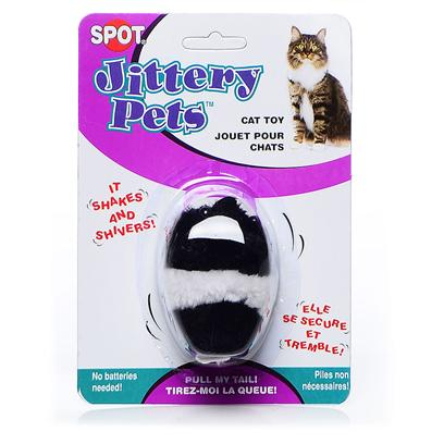 Ethical Presents Spot Jittery Pets Mouse. Pull their Tails &amp; Watch them Go! Shakes &amp; Shivers, Looks so Real. [18436]