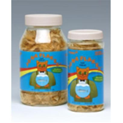 Cosmic Presents Cosmic Treats Tuna Flakes-1oz. It is Well Known that the Japanese are Reconginzed as Having Insights into Healthy Food and are Long Lived because of This. Cosmic Pet has Had the Good Fortune to Become Acquainted with Som of the this Knowledge and Know Shares it with the Cats of the World. For Generations the Japanese have been Drying, Shaving and Eating Tuna Flakes as a Favorite Ingredient in Many Traditional Foods. Cosmic Tuna Flakes are Prepared in the Same Traditional Manner and by the Same Expert Craftsman as the Flakes that are Eaten in Japan. There is no Difference. Low in Fat, High in Protein and Rich in Aroma, Cosmic Tuna Flakes are so Good that just a Pinch will Excite and Please the Most Finicky of Cats. Truly Super !! [18515]