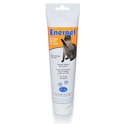 Petag Presents Energel for Cats 3.5oz. Energel is a High Energy Nutritional Supplement Packed with Instant Energy for Cats. A Full-Flavored Concentrated Gel with all of the Essential Vitamins, Mineral, and Trace Elements. Energel Allows Pets to Function at Peak Performance. It's Highly Recommended for Active Animals, Recovering Animals, and Rapidly Growing Young Animals. Easy to Feed from the Finger, Dish or Pet's Front Paw. Energel Gel is Available in 3.5 Oz Tube. 3.5 Oz [18561]