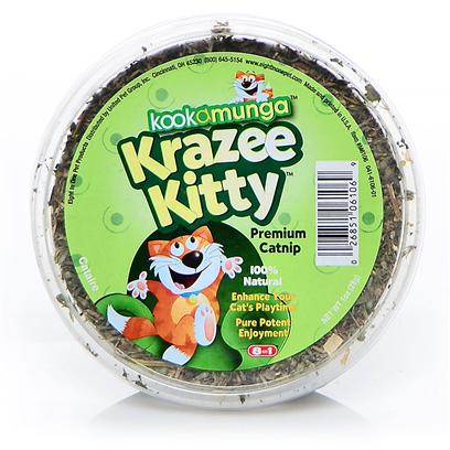 8 in 1 Presents Kooka Catnip Tub-1oz 1oz Tub. Cat Fun doesn't Get any Better than This! From Fun-to-Chase-and-Fun-to-Pop Catnip Bubbles to Totally-Irresistible-Can't-Wait-to-Get-some Catnip Leaves, Kookamunga Pop-off-the-Shelf Products are Made with Premium Quality Catnip to Ensure Cat's have a Totally Kookamunga Time!!! Made with Choice Leaves and Tops, it's by Far the Best Catnip you can Offer Cats! All Natural and 100% Pure. [18570]