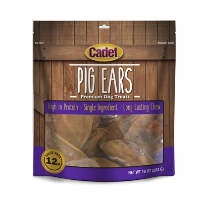 Ims Pet Industries Presents Pig Ears Natural Ims Ear Ziploc Bag 12pc. Pigs Ears Natural 100 Ears Per Box [18647]