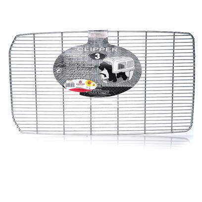 "Marchioro Usa Presents Marchioro Metal Floor Grille-Clippers 1-7 Clipper 4. A Metal Grated Floor for Cayman Clipper Carriers to Keep your Pet Dry. 15 3/4"" X 9 1/2"" [18882]"