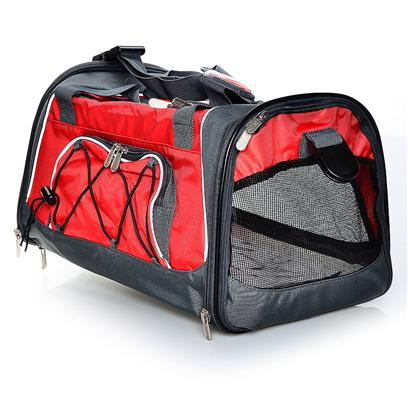 Sherpa Pet Carriers Presents Sherpa Sport Sack Medium Red/Sliver. Sherpa Sport Sack Small [18953]