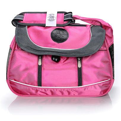 Sherpa Pet Carriers Presents Sherpa Sport Sack-Small Sack Small (Sm) Pnk/Slvr. Does your Pet Go Everywhere with You? Get the Sherpa Sport Sack and Enjoy Convenience and a Stylish Look for you and your Pet. The Sport Sack Fits under Most Airline Seats, so it's Great when you Fly. Plus, it Comes with Top and Side Entries to Make it Easier to Get your Pet in and out on the Go. The Adjustable Straps Allow you to Find the Perfect Shoulder Fit and the Mesh Sides Let you Check in on your Pooch or Kitty while they Enjoy Fresh Air. Plus, the Faux Lambskin Lining Provides a Cozy Space for Even the Most Nervous Pet. The Side Pockets are Great for Storing the Essentials, Making this an all-in-One Carrier. You Never Slow Down, so Get the Sherpa Sports Sack and Move Easier. [18957]