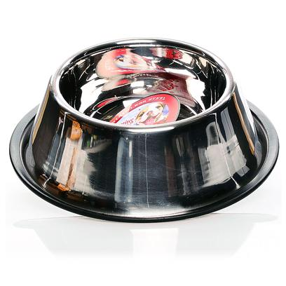 Loving Pet Deep Stainless Steel No-Tip Dog Bowl