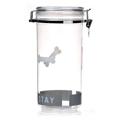 Petmate Presents Treat Jar Pm 34oz. Keeps Pets Treats Fresh! [19258]