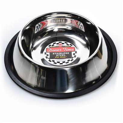 Buy Dog Bowl that will not Tip products including Standard no-Tip Dish Lv 16oz, Standard no-Tip Dish Lv 24oz, Standard no-Tip Dish Lv 32oz, Standard no-Tip Dish Lv 64oz, Standard no-Tip Dish Lv 8oz, Standard no-Tip Dish Lv 96oz, Silver Bullet no-Tip Dish Lv 24oz, Silver Bullet no-Tip Dish Lv 32oz, Silver Bullet no-Tip Dish Lv 64oz Category:Bowls Price: from $2.99