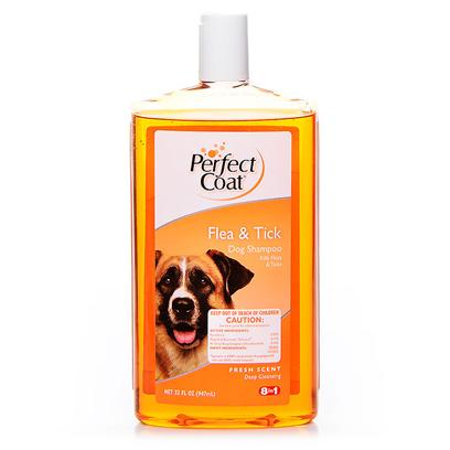 8 in 1 Presents Perfect Coat Flea &amp; Tick Shampoo 32oz 8in1. Same &quot;Perfect&quot; Formula in a Great 32 Oz Value! [19563]