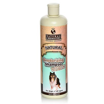 Natural Chemistry Presents Natural Chemistry Odor Control Shampoo 16oz. Kills Fleas and Ticks on Contact, with Residual Effect.,Patent Pending Botanical Formula.,,16 Ounce, ,,Natural Botanical Extract Product that Contains no Pyrethrins. [19600]