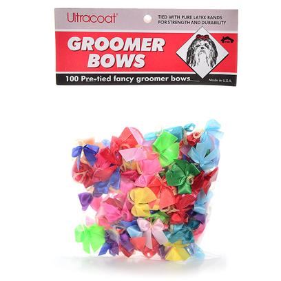 Ps.I. Imports Presents Bow Assortment-Fancy (100pc) 100ct. Tied with Pure Latex Bands for Strength and Durability. Packed 100 Assorted [19663]