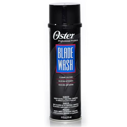 Oster Presents Oster Blade Wash Cleaner 18 Fl Oz 18oz. Easily Flushes Away Hair that Accumulates on Cutting Blades. Removes Factory Applied Preservatives from New Blades . Provides Lubrication for Clipper Blades [19783]