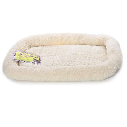 Pet Tek Presents Dreamzone Fleece Pet Beds 51' X 33'. The Dreamzone Fleece Bed is Made from Washable Super Soft Acrylic Fleece and Trimmed with Silky Polyester, Adding Durability. The Breathable Fabric Makes this Bed Comfortable in any Season. The Mattress Rolls Up for Easy Transport. The Bed can also Fit as-is in Most Crates. Dogs and Cats Sleep Comfortable in this Cozy Cloud-Like Bed. [19872]