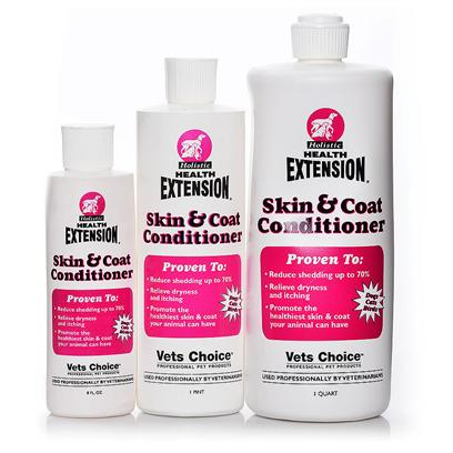 Buy Health Extension Pet Grooming products including Health Extension Skin & Coat Conditioner 8oz, Health Extension Skin & Coat Conditioner Pint, Health Extension Skin & Coat Conditioner he Qt, Health Extension Spray Shampoo 8oz He Category:Shampoo & Rinses Price: from $7.99