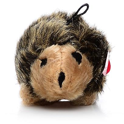 Petmate Presents Aspen Hedgehog-Small Soft Bite Small Hedgehog. These Pint-Sized Plush Toys are Perfect for your Small Dog or Puppy. Covered in a Soft Fabric, they Come in Fun Shapes that your Dog will Love! Case Pk 60 [20018]
