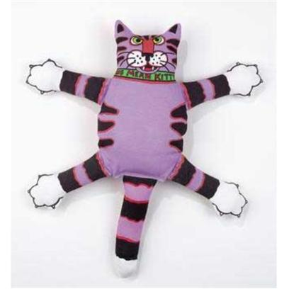 "Fat Cat Presents Fc Doggie Hoots Mini Nasty Scaries Dog Toys Assorted. Our Products are Stamped with ""Absolutely Tested on Animals"" (in our Case that's a Good Thing!) that's because Every Product has been Designed to Provide Hours of Safe and Entertaining Fun for People and their Pets! Just to Make Sure, all of our Stuff is Put through a Rigorous Testing Process by our Team of Test Dogs and Cats. If they don't Like it, we don't Make It! At Fat Cat - ""we Make People and Pets Laugh!"" Squeaker Inside Toy 16"" X 14.5"" [20040]"