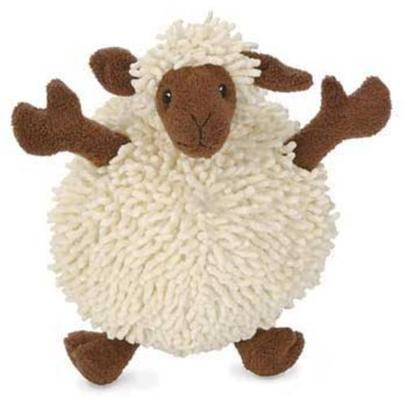 "Go Dog Toys Presents Godog Fuzzy Wuzzy Lamb Plush Toy 7.5'. This Sheep has Legs and Ears that Stick out Beyond the Ball and is Great for your Little Dog to Carry Around. The Fuzzy Body, Soft Legs, and Squeaky Sounds will Attract your Dog's Attention. Your Small Dog will Adore this Chew Toy. 7.5"" [20054]"