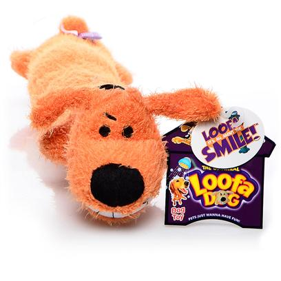 "Multipet Presents Multipet Loofa Dog-Assorted Colors 6'. A Squeaky Pull & Fetch Toy Don'T be Confused it'S Called Loofa, but it'S not Made from a Sponge! This Colorful Terry Cloth, Plush Filled, Squeaky Toy Comes in a Variety of Color and Sizes. It'S Bitable Head and Long Body Make it Great for Tugging, Pulling, or Fetching, and its Squeaker Great for Squeezing. After just a Few Minutes Playing with Loofa Dog, your Dog will be Wearing the Same Wacky Grin. The Larger Sized Loofa Dog'S Long, Floppy Body is Especially Fun for Dogs who Love to Whip their Toys Around and ""Kill"" Them. One Item Per Purchase, Despite the Several Colors Shown. [20057]"