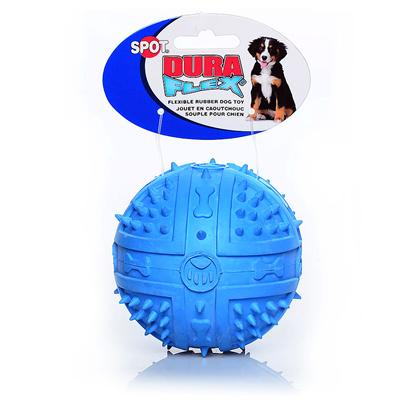 Ethical Presents Duraflex Rubber Ball-Assorted Large 3.75'. Flexible Rubber. Very Durable yet Unbelievably Soft. [20073]