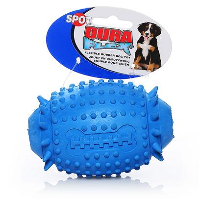 Ethical Presents Spot Duraflex Rubber Football 4.5' - Assorted Colors-4.5'. Spot Duraflex Rubber Football 4.5&quot; Asst [20076]