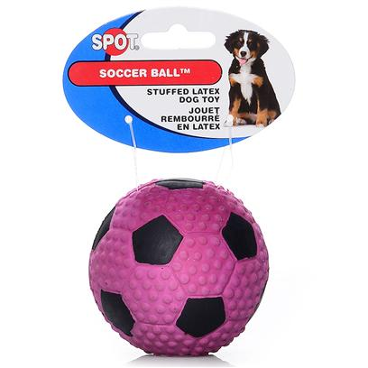 Ethical Presents Fiber Latex Soccer Ball. Fiber Filled Soccer Ball Hot Fun Colors, Durable Fiber Filled Latex, [20152]