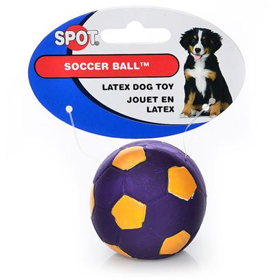 Ethical Presents Latex Soccer Ball 2'. Small Soccer Ball 2&quot; Soccer Fun, Durable Latex Toy Looks Like a Real Soccer Ball. [20156]