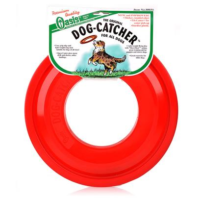 "Kordon/Oasis Presents Dog-Catcher Flying Disc (12' Diameter) 12'. Upc 0-48054-80035-1 Item # 80035 Dog Catcher™ 11.5"" Flying Disc - Asst. Colors Excellent for Slower Dogs. [20198]"