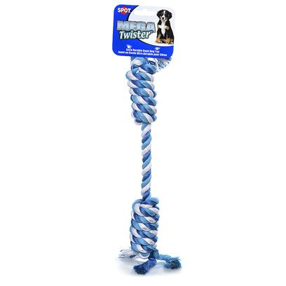 Ethical Presents Mega Twist Rope 19'. Mega Twister Toys are Made Form Heavy Twisted or Braided Ropes, which Offer Extra Strenght and Durability. [20204]
