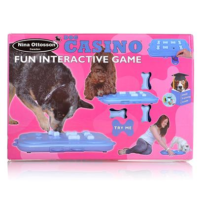 The Company of Animals Presents Dog Casino Treat Search Game Interactive. Dog Casino Treat Search Game [20219]
