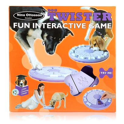 The Company of Animals Presents Dog Twister Treat Search Game Tcoa. Dog Twister Treat Search Game [20226]