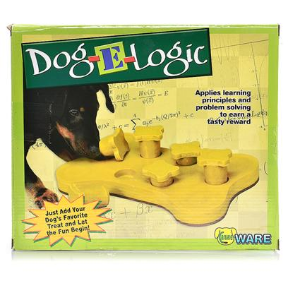 Ware Manufacturing Presents Dog-E Logic Treat Game Dog-E-Logic. Dog-E Logic Treat Game [20232]