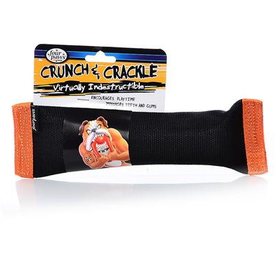 Buy Four Paws Crunch &amp; Crackle Tug products including Four Paws Crunch &amp; Crackle Tug Medium, Four Paws Crunch &amp; Crackle Tug Small Category:Chew Toys Price: from $6.99