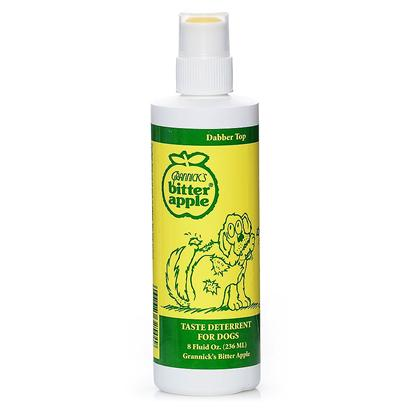 Grannicks Presents Bitter Apple Dabber Top Roll on 8oz. Dabber Enables Precise Application Discourages Fur Biting, Hair Chewing and Hot Spots [20429]