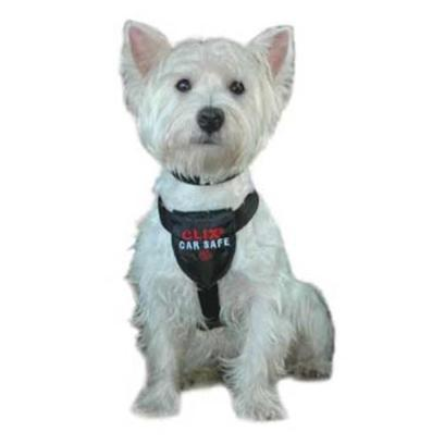 The Company of Animals Presents Clix Car Safe Harness for Dogs X-Small. Whether your Dog Loves Going for Rides or Dreads Being in the Car, it's Important that you Secure Him for his and your Safety. The Clix Car Safe Harness Clicks Directly into the Seat-Belt Socket or by Sliding the Seat-Belt through the Harness. The Harness is Made from Approved Safety-Standard Seat-Belt Material, so you can Trust that He's Secure and Ready for a the Ride. The Harness has Soft all-over Neoprene Padding that Provides True Comfort while the Unique X-Cross Design Ensures a Strong Ergonomic Fit that Stays Put, Even while Moving. Unlike Other Harnesses that can be Difficult to Put on, the Clix Car Safe Harness Uses Double-Sided Adjustable Buckles that Clip Together without Needing to Manipulate your DogS Legs. And when You're not in the Car, this Versatile Harness Doubles as a Walking Harness. [20506]