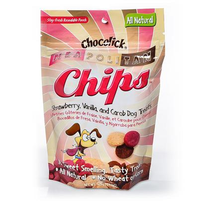 Hb.H. Enterprises Presents Chocolick Chips 4.5oz. Looks and Tasted Like Real Chocolate Chips! Chocolick Chips Provide your Dog with the Irresistible Aroma and Taste of Chocolate, but are Made from Carob to Make them a Safe, Fun Treat. The Silver Foil Packaging Includes a Window for Easy Product Viewing. 4.4 Oz [20569]